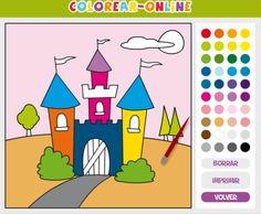 Actividades para Educación Infantil: Dibujos para pintar COLOREAR ONLINE
