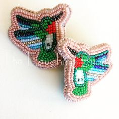 #thelaughingbeads #beadwork #hummingbird  Order complete. A similar order is $35. DM for invoice/inquiry. ❤️