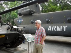 Hal in The War Remnants Museum Saigon