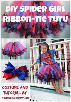 Superheroes aren't just for boys. This tutu is for all the brave girls!