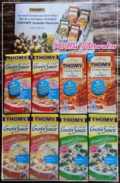 Ich durfte die neuen Thomy Gratin Saucen dank Brandnooz testen.