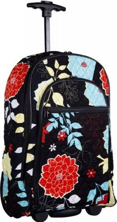 Attractive Colorful Floral-designed Quilted Rolling Backpack with Retractable Push-button Handle ~ 100% Cotton Zippered Travel Bag with Adjustable Shoulder Straps and Easy Rolling Wheels Bags,http://www.amazon.com/dp/B00GLZSO5G/ref=cm_sw_r_pi_dp_Fzy9sb0KNF4059B2