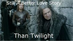 """Haha! Out of all the """"still a better love story than Twilight"""" pictures, this one has officially become my favorite."""