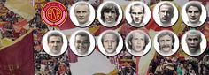 Hall of Fame Class of 2012: the eleven players elected      Tancredi, Cafu, Losi, Aldair, Rocca, Bernardini, Di Bartolomei, Falcao, B. Conti, Pruzzo, Amadei: AS Roma is pleased to announce to supporters and the media the results based on voting by fans (via the club's official website) and the five members of the AS Roma Hall of Fame Panel