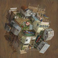 Cinta Vidals faszinierende Bildkonstruktionen