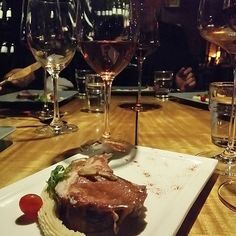 """Baked Lamb Rack With Superior Soy Sauce Go With Ayles Reula (Garnacha) #Lamb #lambrack #soysauce #reula #garnacha #spanish #spainwine #winebar #winelover #winesdining #cincinwine2u #wine2u #ayles #pago #aldeya #environment #enjoy #dining #events #winendine #winedine"" by @dannychongsl. #이벤트 #show #parties #entertainment #catering #travelling #traveler #tourism #travelingram #igtravel #europe #traveller #travelblog #tourist #travelblogger #traveltheworld #roadtrip #instatraveling…"