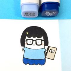 If you thought Spooky would stop cosplaying just because Halloween is over.. no way! ✨ He wants to become a professional Cosplayer and there are still so many favorite characters he has to cosplay #可愛い #かわいい #spookymccute #tinabelcher #bobsburgers #doodle #kawaii #copicmarkers #cosplay
