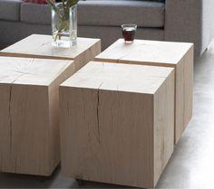 Solid wood furniture living room coffee table wood tree blocks Source by FreshideenGioia Coffee Table 2019, Solid Wood Coffee Table, Wood Table, Coffee Tables, Cube Coffee Table, Deco Design, Wood Design, Design Design, Design Ideas