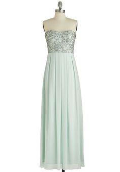 Mint Magnificence Dress, #ModCloth