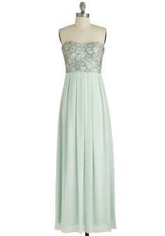 Mint Magnificence Dress, #ModCloth