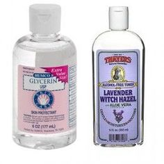 Homeopathic Topical Psoriasis Remedy - Witch Hazel and Glycerin USP