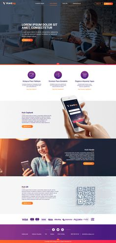 One Page Website Layout Web Design - Dara Brockelsby Design Sites, Site Web Design, Homepage Design, Web Design Agency, Design Agency Website, Design Design, Web Design Websites, Portfolio Website Design, Web Design Projects