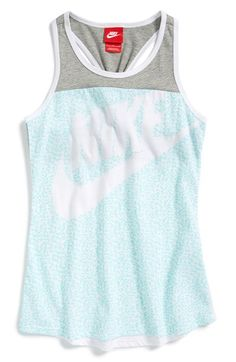 Girl's Nike 'HBR Graphic Tank Top