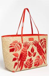 kate spade new york 'harmony' embroidered straw tote available at Nordstrom Color Type, Ethnic Bag, Boho Bags, Straw Tote, Basket Bag, Kate Spade Purse, Vintage Bags, Handmade Bags, Crochet Bags