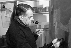 LE PEINTRE SERGE POLIAKOFF, 1958 - La galerie photo ParisMatch.com