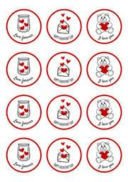 #SanValentin #Diadelosenamorados #14defebrero #ValentinesDay #stickers #imprimiblegratis #CartelGratis #etiquetas #freeprintable #ideasderegalo Decorative Plates, Home Decor, Printable Labels, Card Templates Printable, Valentines, Fiestas, Decoration Home, Room Decor, Home Interior Design