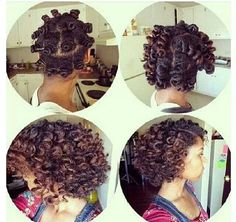 Nice bantu knot out