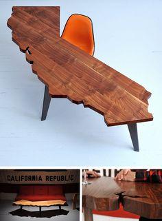 desk shaped like...