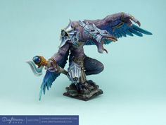 WH – Chaos – Greater Daemon of Tzeentch « Draftsman DAZE