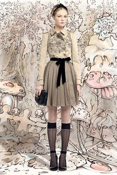 RED Valentino Fall/Winter 2013-2014 Collection