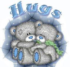 Tatty Teddy - Hugs to you my friend