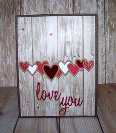 Ann Greenspan's Crafts: Rustic Lots of Love Hearts