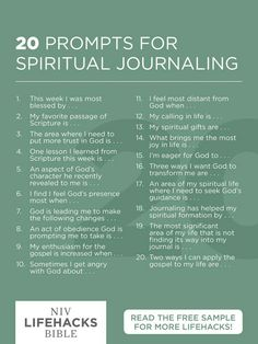 20 prompts for spiritual journaling journal prompts, christian journaling prompts, scripture journal, devotional Spiritual Life, Spiritual Growth, Spiritual Health, Spiritual Prayers, Spiritual Images, To Do Planner, Journal Writing Prompts, Christian Journaling Prompts, Scripture Study