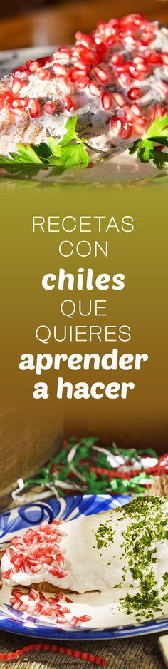 ¿Estás buscando recetas con Chiles? Kiwilimon tiene las mejores recetas con Chiles probadas con calificaciones, comentarios, tips y videos.