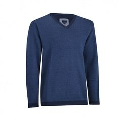 Jersey Ashworth Cashmere Blend Oxford para Caballero. Jersey con Cashmere y cuello en pico. Estilo clásico y confortabilidad, gracias a los tejidos utilizados en su fabricación.