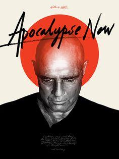Grzegorz Domaradzki - Apocalypse Now - Francis Ford Coppola) Films Cinema, Cinema Posters, Best Movie Posters, Movie Poster Art, Minimal Movie Posters, Minimal Poster, Famous Movies, Cult Movies, Popular Movies
