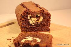 cake choco fondant blanc 1