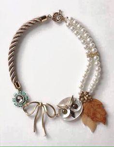 owl and pearls necklace Owl Jewelry, Jewelry Box, Jewelry Accessories, Fashion Accessories, Jewelry Making, Jewellery, Jewelry Necklaces, Owl Bracelet, Owl Necklace