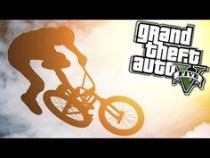 cool GTA 5 AMAZING BMX STUNT MONTAGE! (GTA 5 STUNTS)