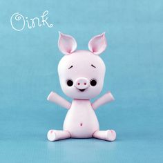 Little Pig and a heap of other great tutorials, I interchange my polymer clay and cake tutorials