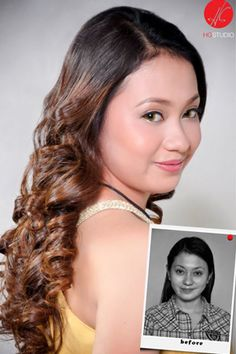 Before and After Makeup by HG Studio