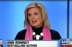 ann+romney | ann romney sat down friday with fox news bill hemmer to discuss the ...