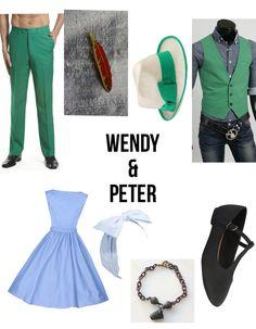 Disneybound: Dapper Day Peter Pan & Wendy