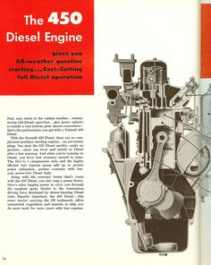 Farmall 450 Diesel Engine International Tractors, International Harvester, Case Ih, Diesel Engine, Farming, Classic Cars, Aircraft, Engineering, Advertising