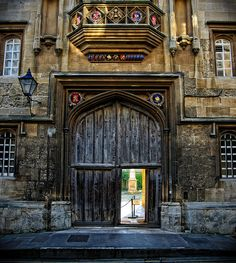 Corpus Christi College, Oxford. with Charles Finch in The September Society.
