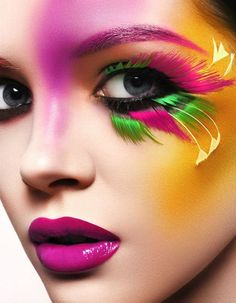 Color lashes