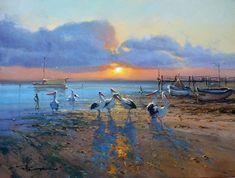 Pelicans Retreat, Robert Hagan