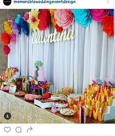 Mexican Birthday Parties, Mexican Fiesta Party, Fiesta Theme Party, Birthday Party Themes, Mexican Theme Baby Shower, Baby Shower Themes, Baby Shower Decorations, Shower Ideas, Mexican Party Decorations