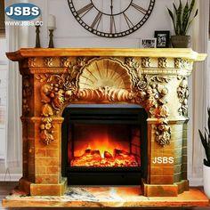 Grand Marble Fireplace Mantel www.jsbluesea.com info@jsbluesea.com whatsapp wechat:0086-13633118189 #fireplace #fireplacemantel #jsbsmarble #jsbsstone #JSBS #renovation #restoration #marbledecor #housedecor #gardendecor Marble Fireplace Mantel, Marble Fireplaces, Fireplace Surrounds, Fireplace Mantels, Marble Columns, Stone Columns, Marble Carving, Stone Fountains, French Interiors