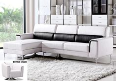 Jennifer Convertibles: Sofas, Sofa Beds, Bedrooms, Dining Rooms & More! Dalton Sectional with BONUS Barrel Chair (East Coast only)