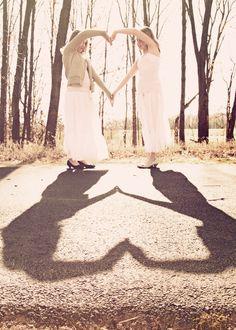 twins heart, vintage edit... Copyright Lauramayzing Photography