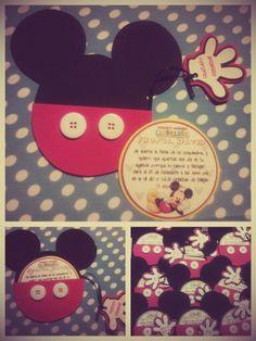 Invitacion de mickey mouse