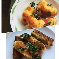 #5 Jamon & Manchego croquetas from Spain #spainishfood #spanishcooking #jamon #manchegocheese #croquetas #delicious #deliciousabc #delicouscooking #deliciouscookingabc #vallilittle #vallilittlerecipes #cookingdeliciousabc #goodtoeat