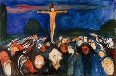 Edvard Munch, Golgata (Golgotha), 1900