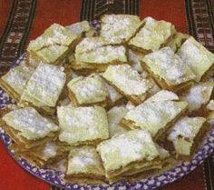 Pentru foi:  4 linguri lapte  4 linguri zahar  1 ou  1 lingurita amoniac stinsa cu otet  100 g unt sau margarina  faina   Pentru umplutura: ... French Toast, Bacon, Pie, Cheese, Breakfast, Desserts, Food, Projects, Torte
