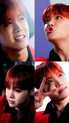 I love red hair Jhope Namjoon, Yoongi, Seokjin, Jung Hoseok, Jimin, Bts Bangtan Boy, Gwangju, Fandom, Bts J Hope